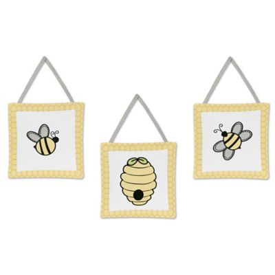 Sweet Jojo Designs Honey Bee Wall Decor