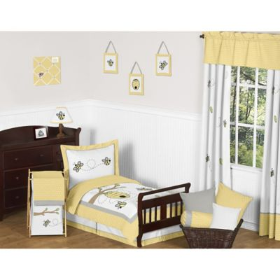 Sweet Jojo Designs Honey Bee 5-Piece Toddler Bedding Set