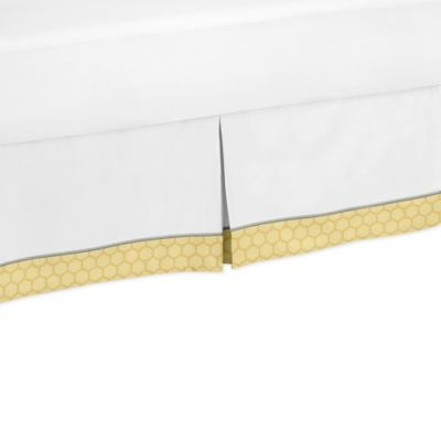 Sweet Jojo Designs Honey Bee Toddler Bed Skirt