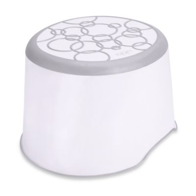 Ubbi® Step Stool in White/Grey