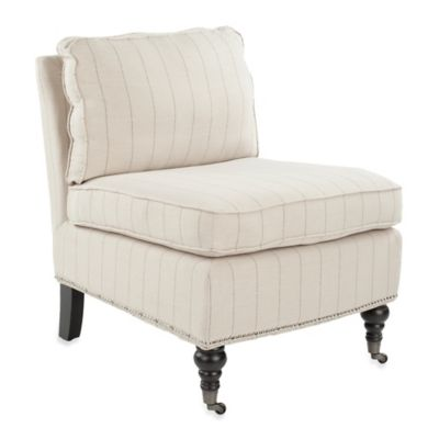 Safavieh Randy Slipper Chair in Beige