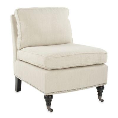 Safavieh Randy Slipper Chair in Grey