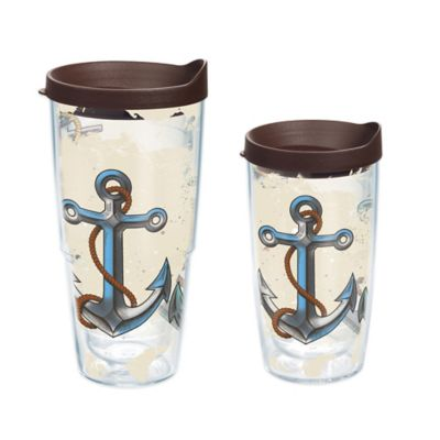 Tervis® Nautical Anchors 24 oz. Wrap Tumbler with Lid