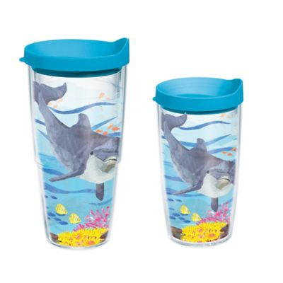 Tervis® Two Can Dolphin Autism Awareness 16 oz. Wrap Tumbler with Lid