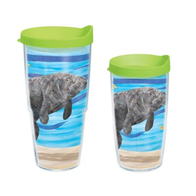 Tervis® Two Can Manatee Autism Awareness 16 oz. Wrap Tumbler with Lid