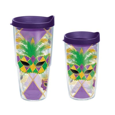Tervis® Mardi Gras Mask 24 oz. Wrap Tumbler with Lid