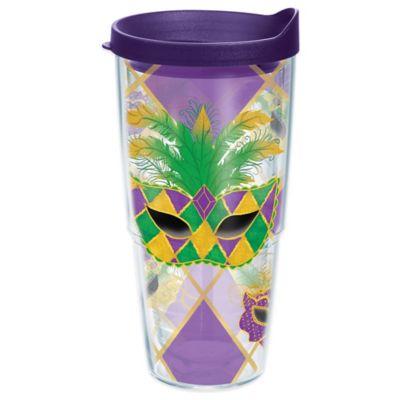 Tervis® Mardi Gras Mask 24 oz. Wrap Tumbler with Lid