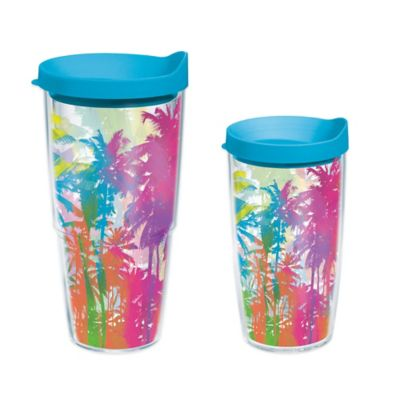 Tervis® Neon Palm Trees 24 oz. Wrap Water Bottle with Lid