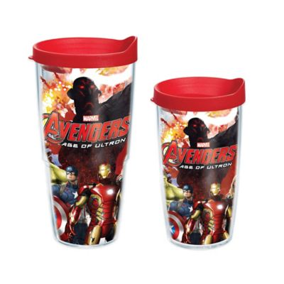 Avengers 24 oz Wrap Tumbler with Lid