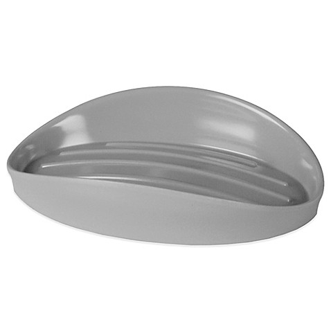 Buy umbra curvino soap dish in charcoal from bed bath beyond - Umbra soap dish ...