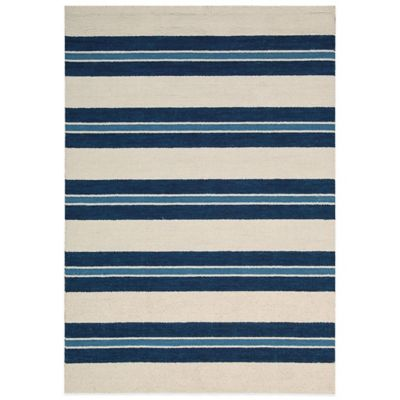 Barclay Butera Oxford Awning 5-Foot 3-Inch x 7-Foot 5-Inch Rug in Blue