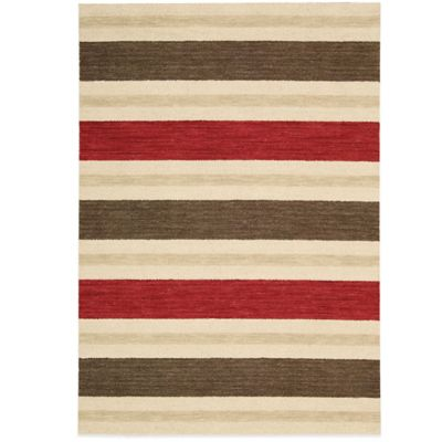 Barclay Butera Oxford Savana 7-Foot 9-Inch x 10-Foot 10-Inch Rug in Brown/Red