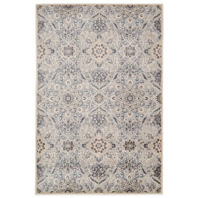 Kathy Ireland® Home Bel Air Ovals 4-Foot 11-Inch x 7-Foot Rug in Grey
