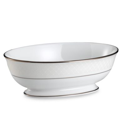 Lenox® Venetian Lace 9 1/2-Inch Open Vegetable Bowl