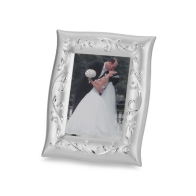 Lenox® Opal Innocence™ Silverplated 5-Inch x 7-Inch Frame