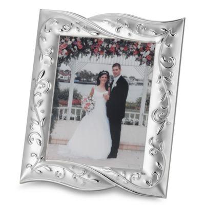 Lenox® Opal Innocence™ Silver Plated 8-Inch x 10-Inch Frame