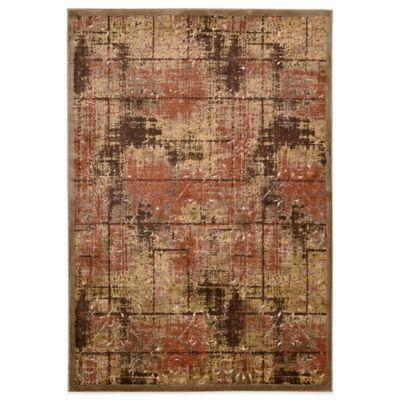 Kathy Ireland® Home Bel Air Texture 3-Foot 6-Inch x 5-Foot 6-Inch Rug in Brown