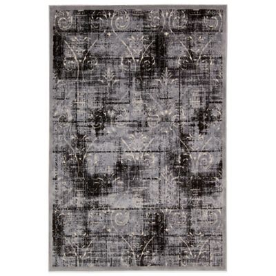 Kathy Ireland® Home Bel Air Texture 4-Foot 11-Inch x 7-Foot Rug in Ash