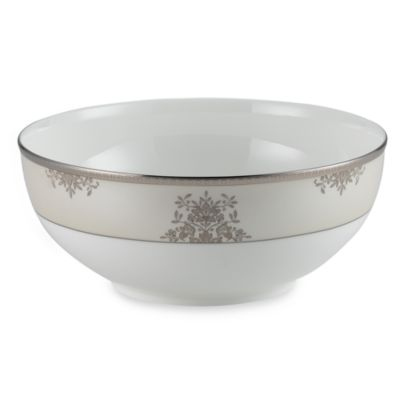 Floral Elegance Platinum 8 1/2-Inch Vegetable Bowl