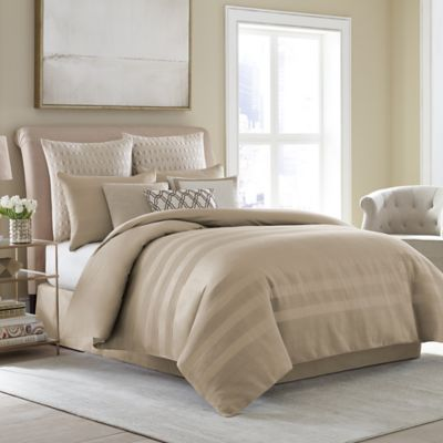Wamsutta® Joliet King Duvet Cover Set in Caramel