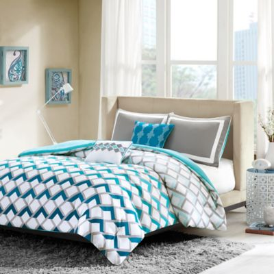 Intelligent Design Finn Twin/Twin XL Comforter Set in Blue
