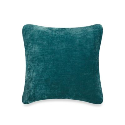 bluebellgray® Mode Textured Velvet/Linen Square Throw Pillow