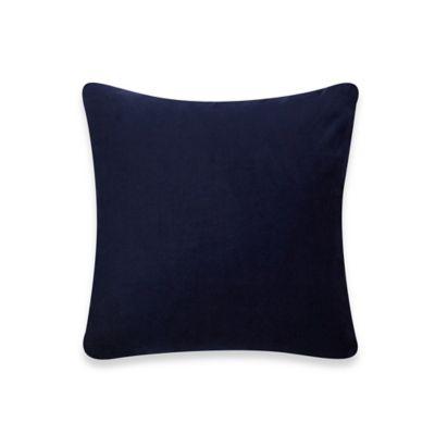 bluebellgray® Nevis Solid Smooth Velvet Square Throw Pillow