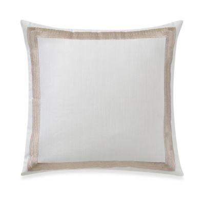 Wamsutta® Joliet Square Throw Pillow in White