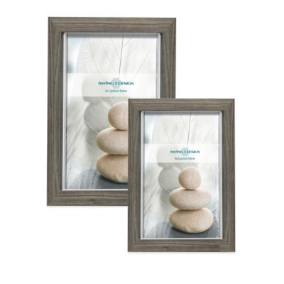 Swing Design Boston 5-Inch x 7-Inch Picture Frame in Grey