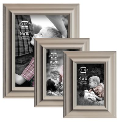 Prinz Monroe 5-Inch X 7-Inch Metal Picture Frame in Matte Pewter