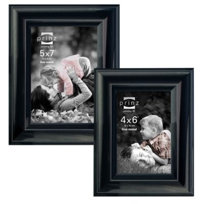 Prinz Monroe 5-Inch x 7-Inch Picture Frame in Gun Metal