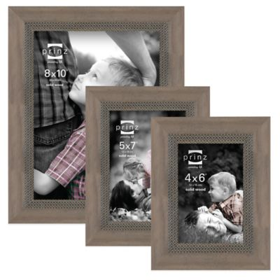 Prinz Monterey 4-Inch x 6-Inch Picture Frame in Grey