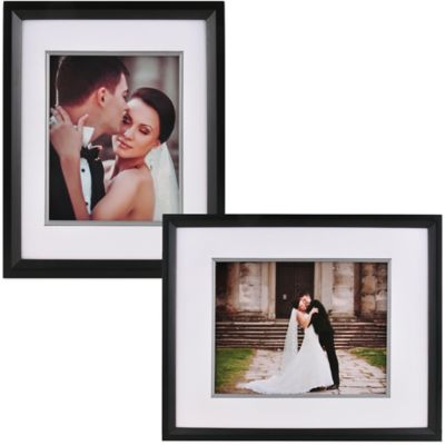 PhotoGuard 8-Inch x 10-Inch Portrait Frame in Black