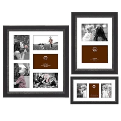 Prinz Monterey 2-Photo Collage Picture Frame in Black