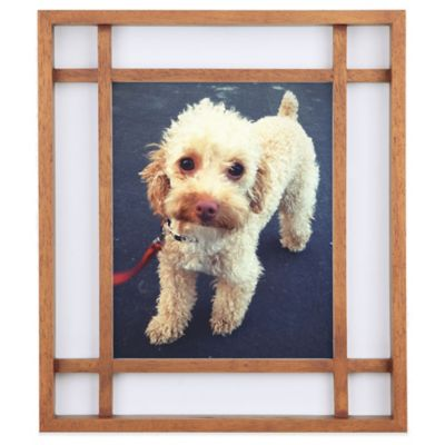Umbra® Teju 8-Inch x 10-Inch Wood Picture Frame in Walnut