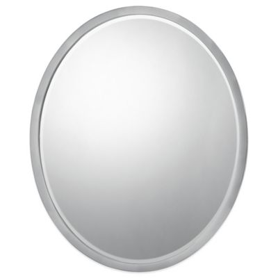 Soho 24-Inch x 20-Inch Mirror with Brushed Nickel Finish