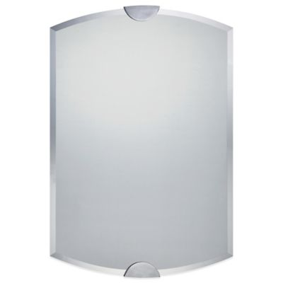 Marien 36-Inch x 25-Inch Mirror with Polished Chrome Finish