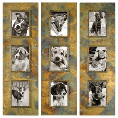 Uttermost Ambrosia Photo Collage Frames (Set of 3)