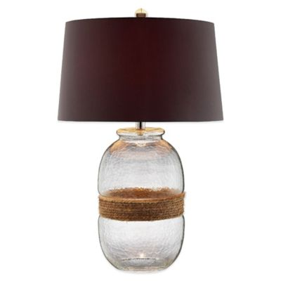 Panama Jack® Hammered Glass Table Lamp