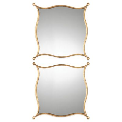 Uttermost Sibley Gold Mirror (Set of 2)
