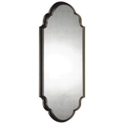 Metallic Mounted Mirror