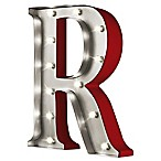 Loft Living Metal LED Marquee Letter  R