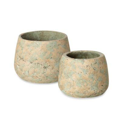 Small Concrete Pot