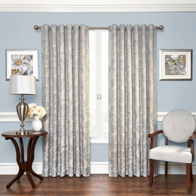 Blue Window Treatments