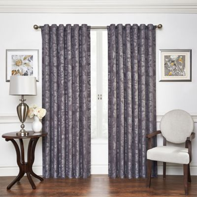 Vue Signature 95-Inch Arguello Room Darkening Window Curtain Panel in Plum