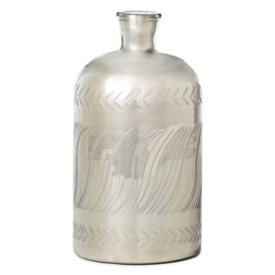 10-Inch Antique Bottle Vase