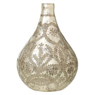 13-Inch Antique Bottle Vase