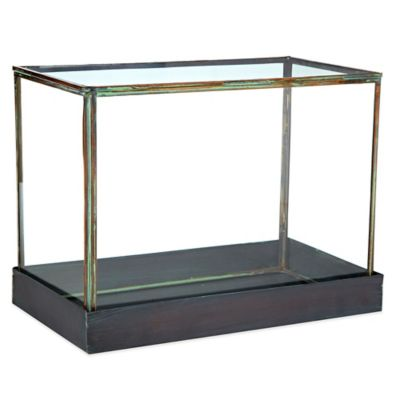 Rectangular Glass Terrarium