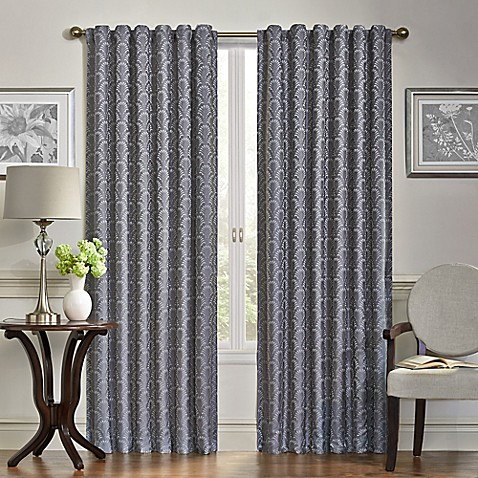 Buy Vue Signature 84 Inch Room Darkening Window Curtain Panel In Grey From Bed Bath Beyond