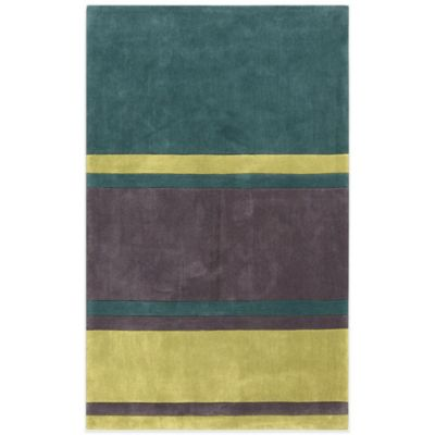 Style Statements Taunus 2-Foot x 3-Foot Area Rug in Charcoal